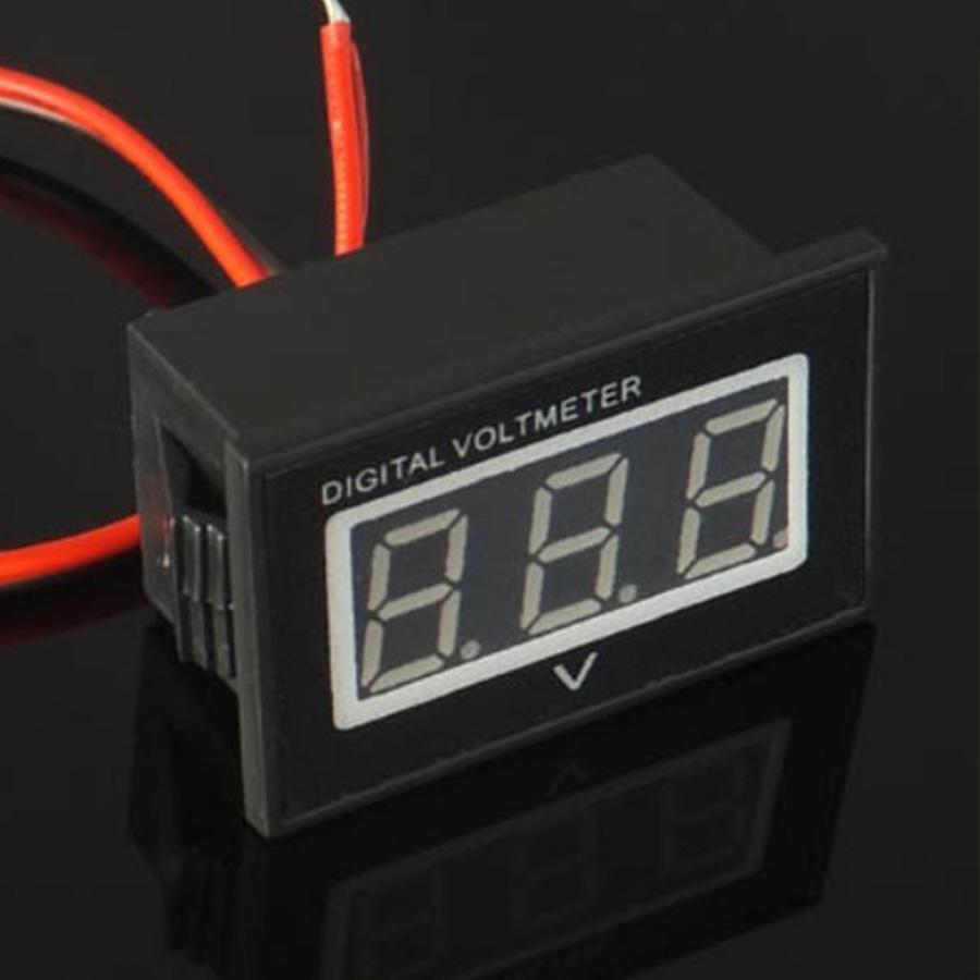 Pleasing Digital Voltmeter Mysportbikemods Wiring 101 Ferenstreekradiomeanderfmnl